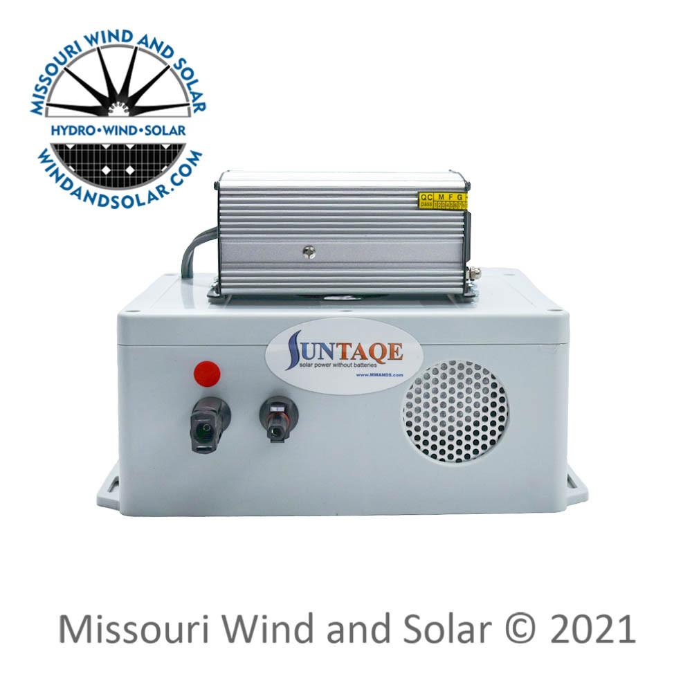 Suntaqe 150 Watt 12 Volt Power without Batteries Inverter Controller