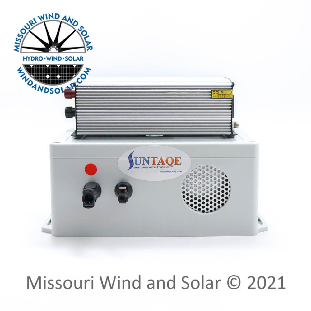 Suntaqe 24 Volt 300 Pure Sine Wave Power Without Batteries Side