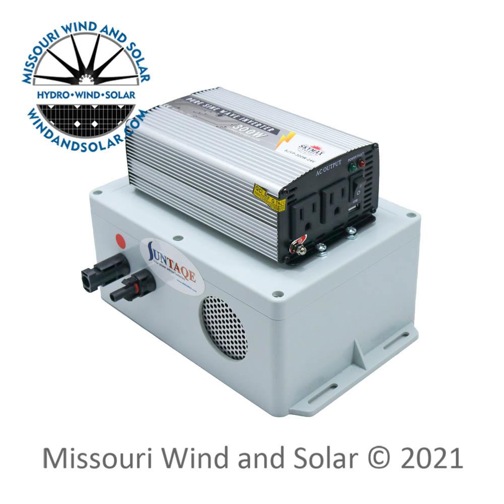 Suntaqe 24 Volt 300 Pure Sine Wave Power Without Batteries