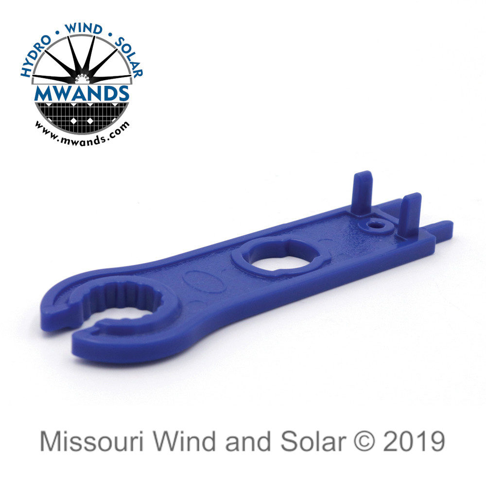 MC4 Solar Disconnect Spanner Wrench Bottom