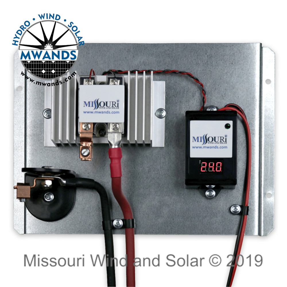 70 Amp 24 Volt PWM Solar Charge Controller