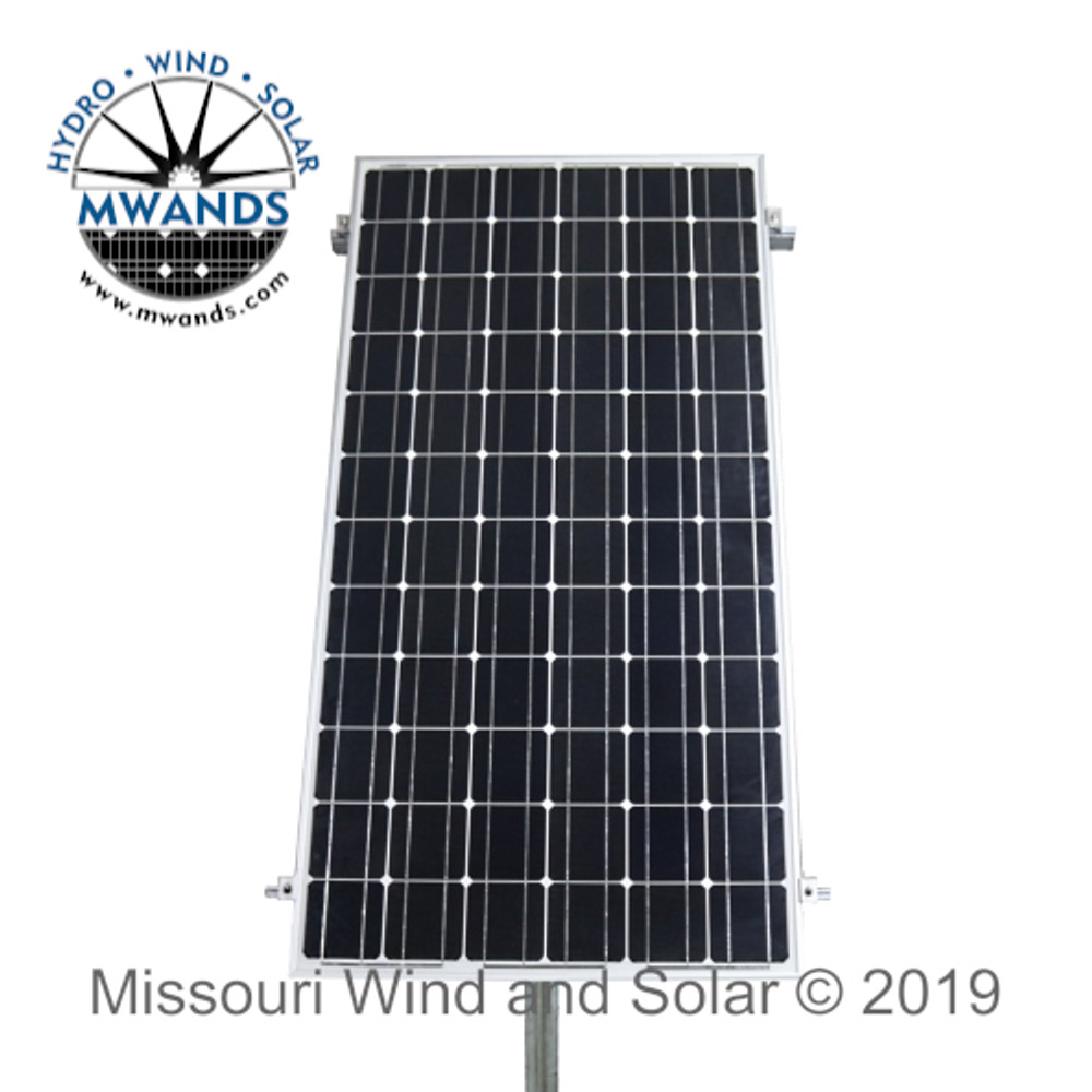 Large Solar Panel Side of Pole Mounting Kit