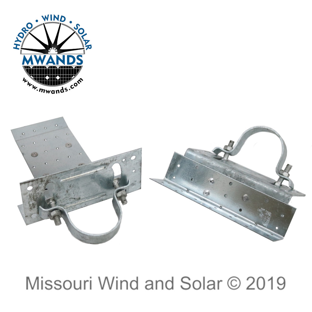 Mounting Brackets for Side of Pole Solar Panel Mount