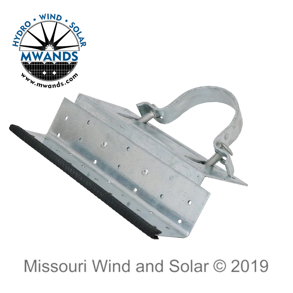 Support Bracket for Solar Panel Side of Pole Mounting Kit
