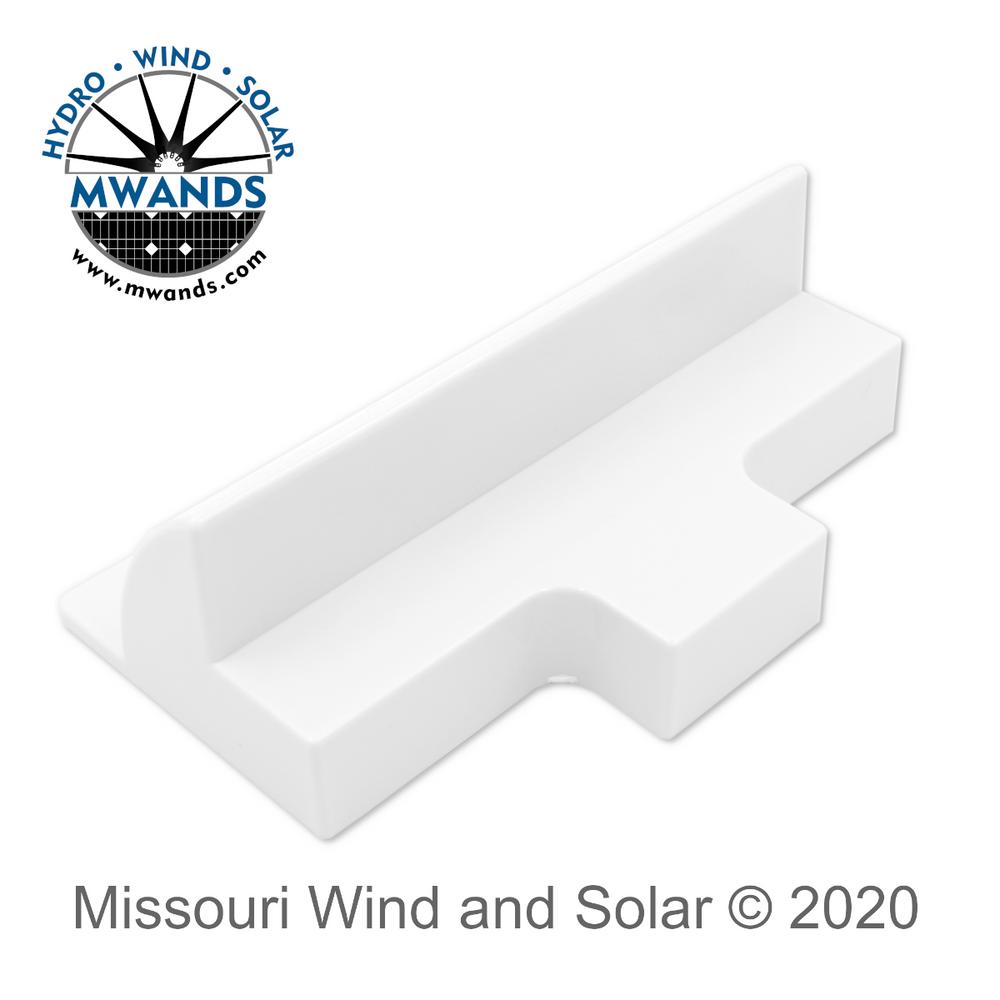 ABS Solar Panel Side Mount Shelf