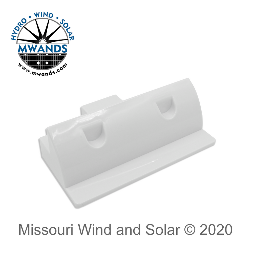 ABS Solar Panel Side Mount with Screw Slot