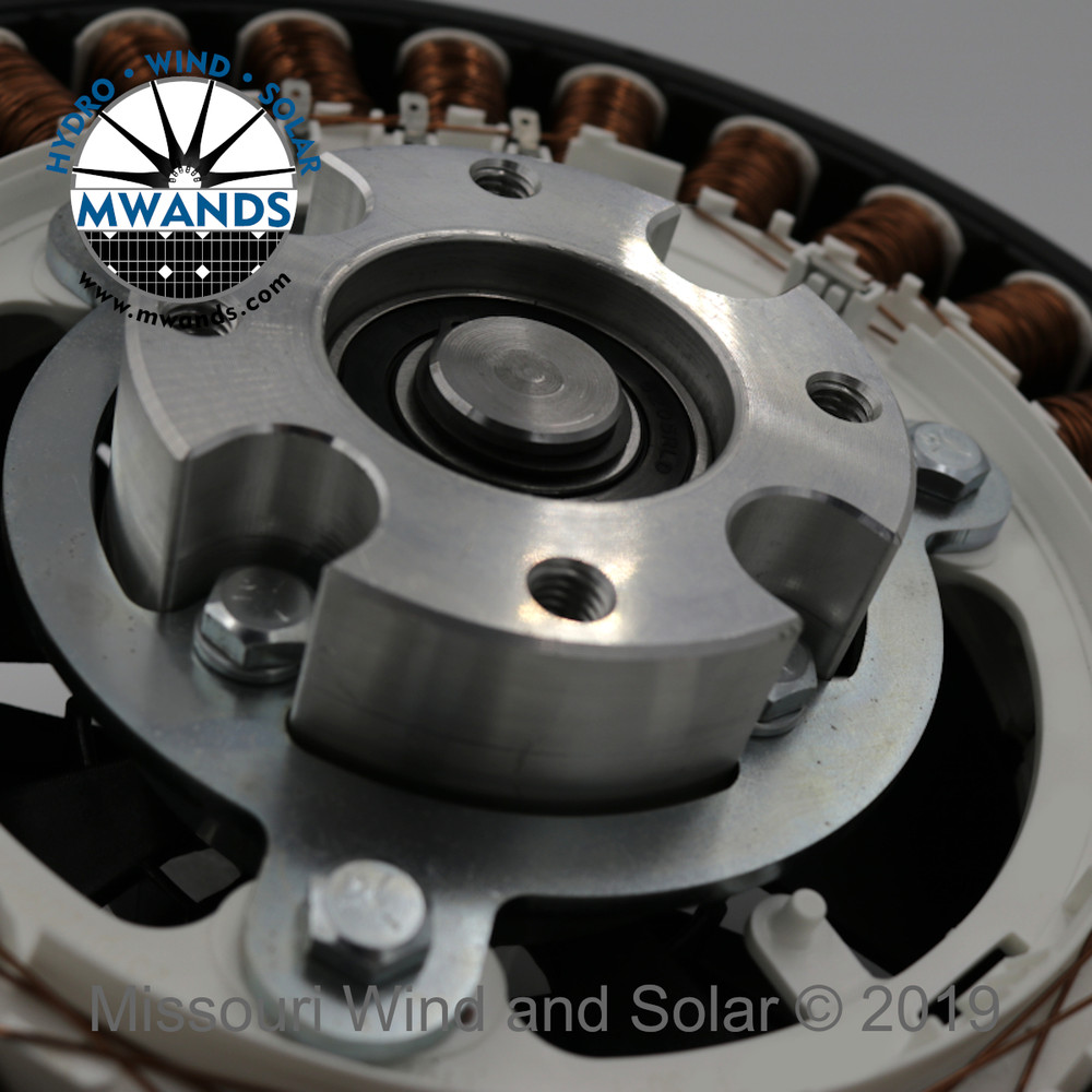SkyMAX Vertical Axis VAWT Stator Detail