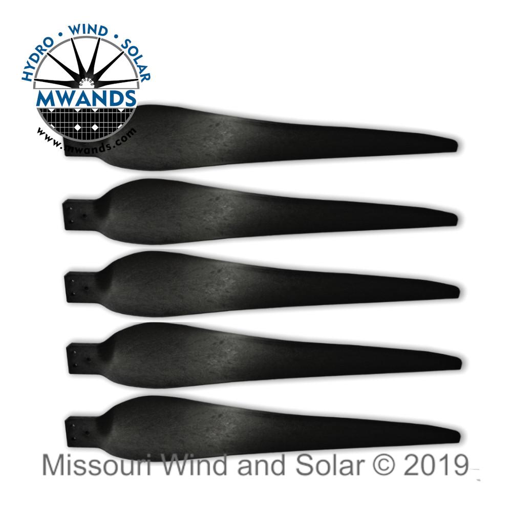5 Raptor G5 Wind Turbine Blades
