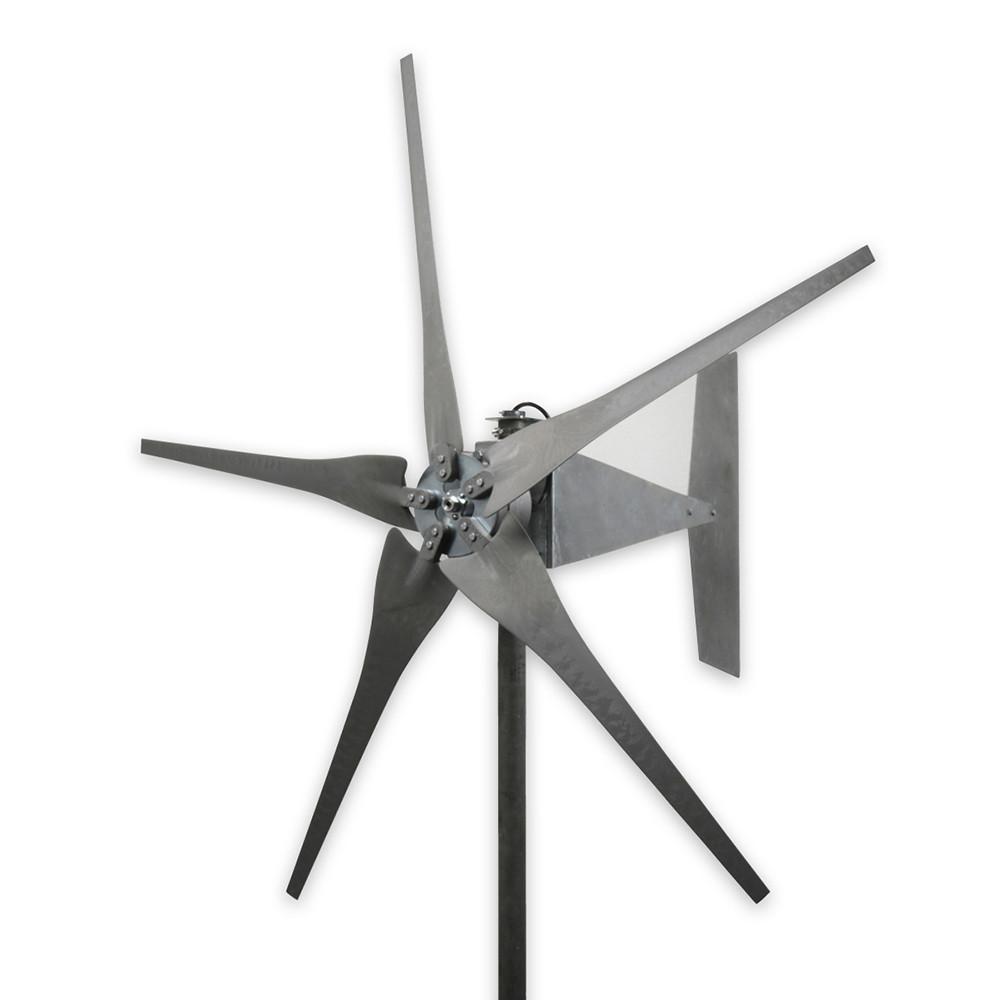 1600 Watt Freedom Raptor G4 5 Blade Gray Wind Turbine