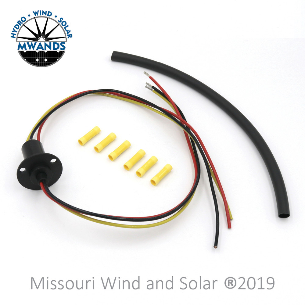 3 Wire Slip Ring Kit With 90A 3 Wire Slip Ring