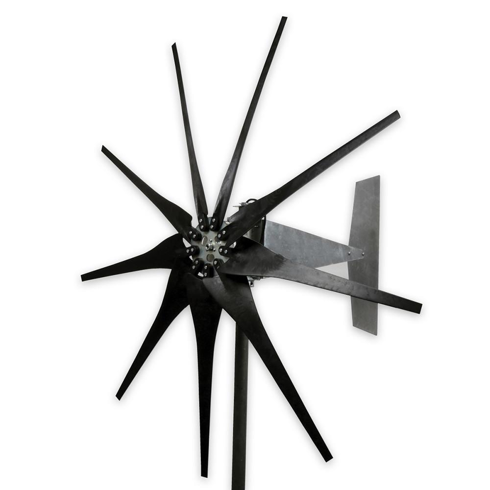 Raptor G4 9 Blade Freedom Wind Turbine Generator Black