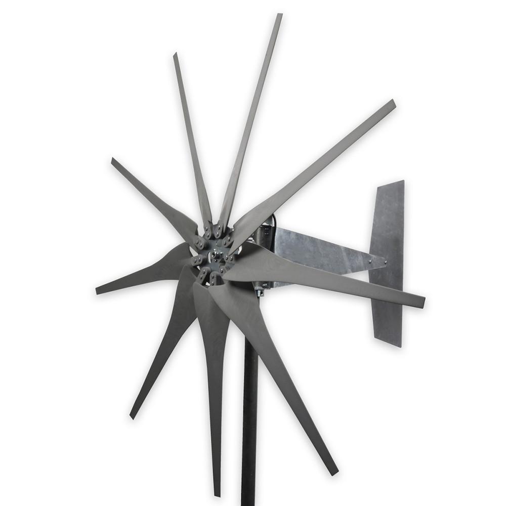 Raptor G4 9 Blade Freedom Wind Turbine Generator Grey