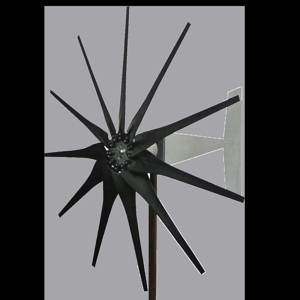Raptor G4 11 Blade Freedom Wind Turbine Generator Black