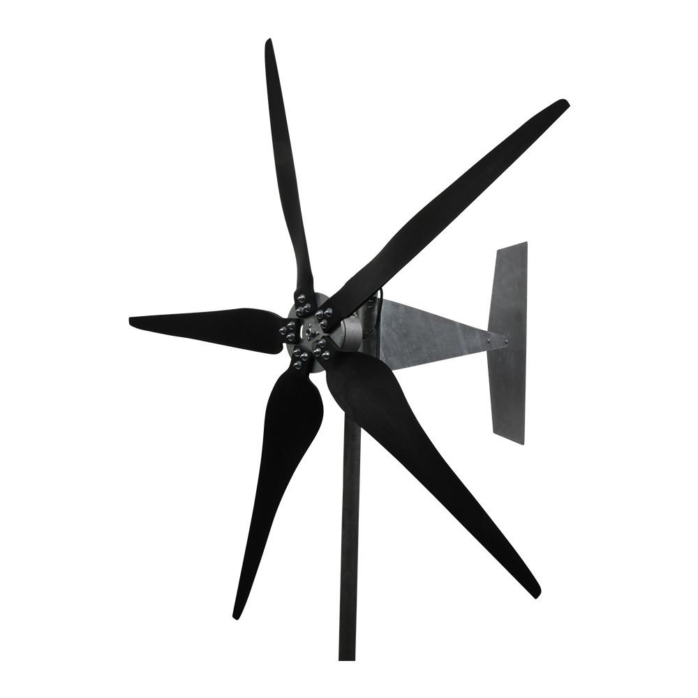 Raptor 5 Blade Wind Turbine with Raptor G5 Blades