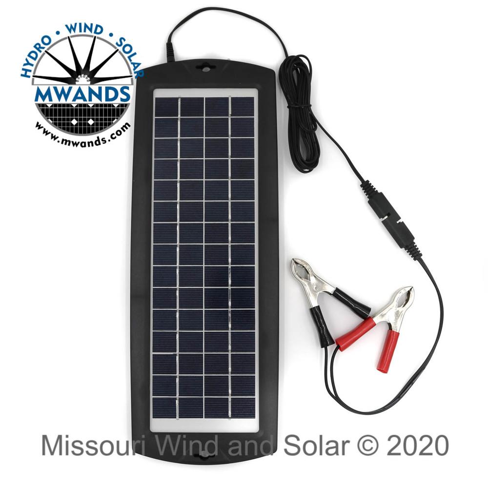 4 Watt - 12 Volt Solar Charger Maintainer