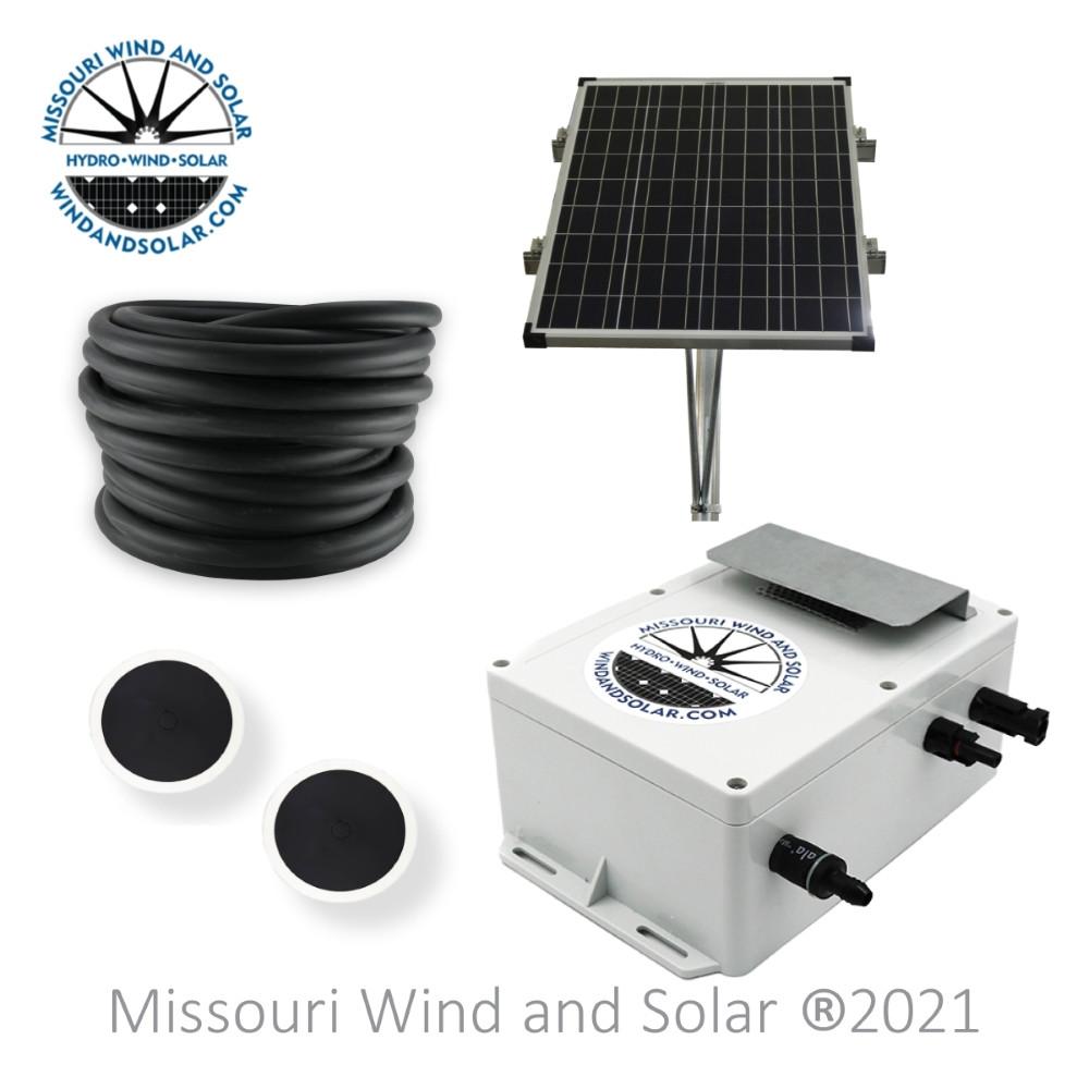 Little Blow Hard Solar Pond Aeration Kit