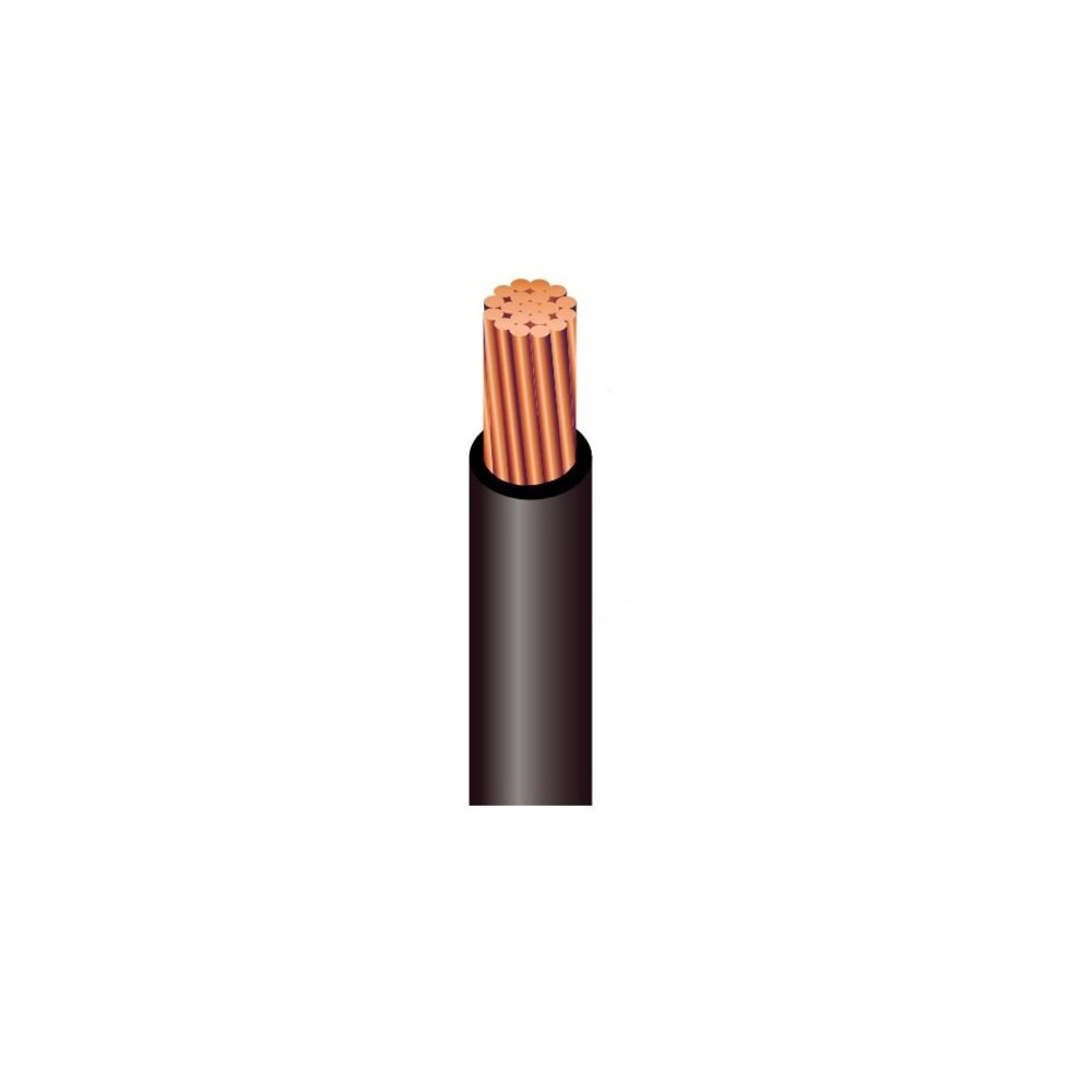 8 AWG PV Cable Black