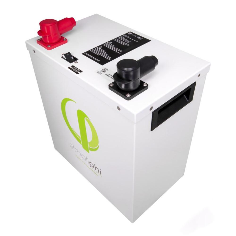 AmpliPHI 3.8 kWh LFP Battery, 48V Side