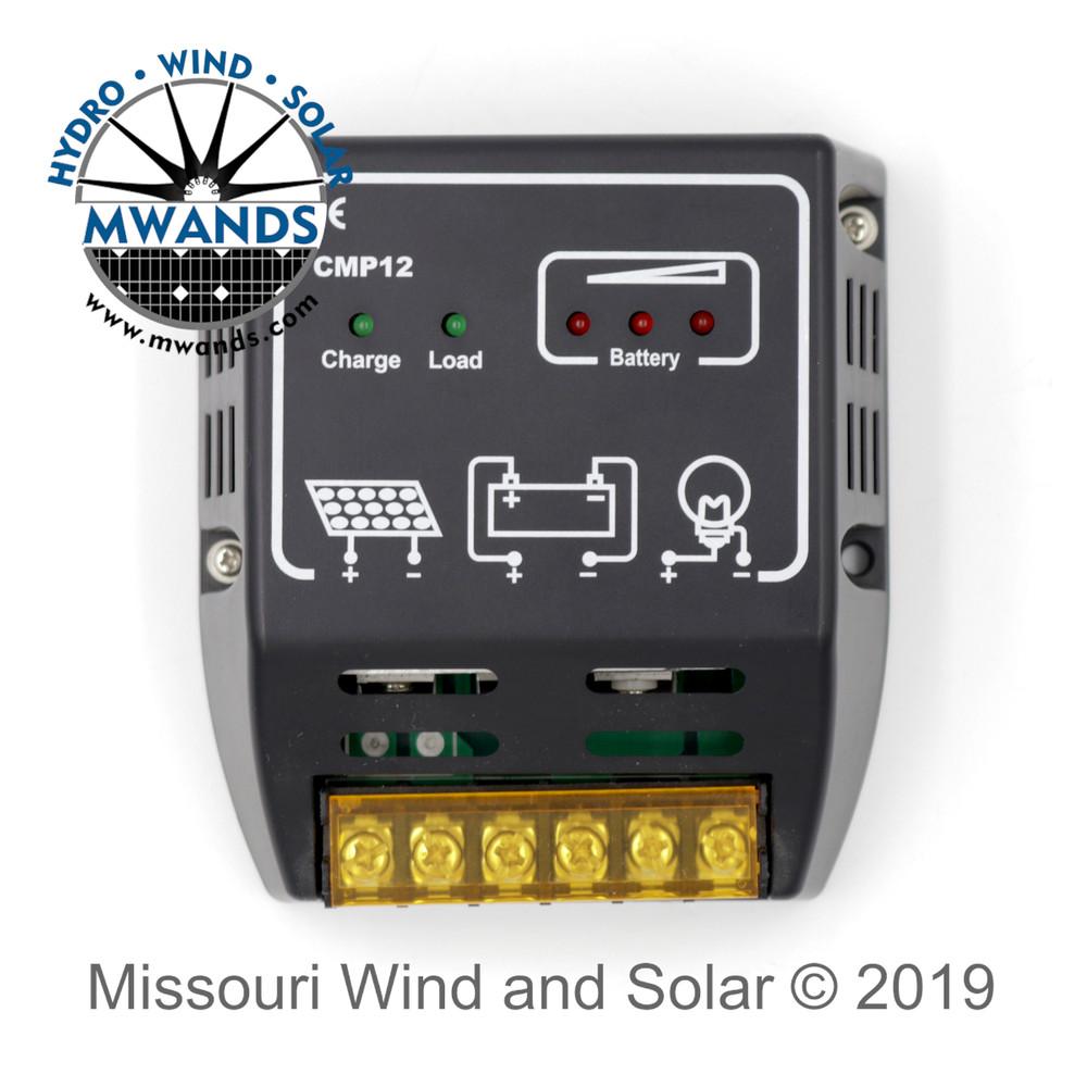 10 Amp Solar Charge Controller LED Indicators