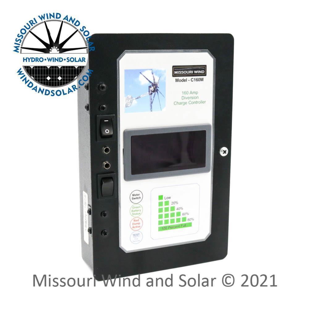 24 Volt 160 Amp 3600 Watt Hybrid Charge Controller