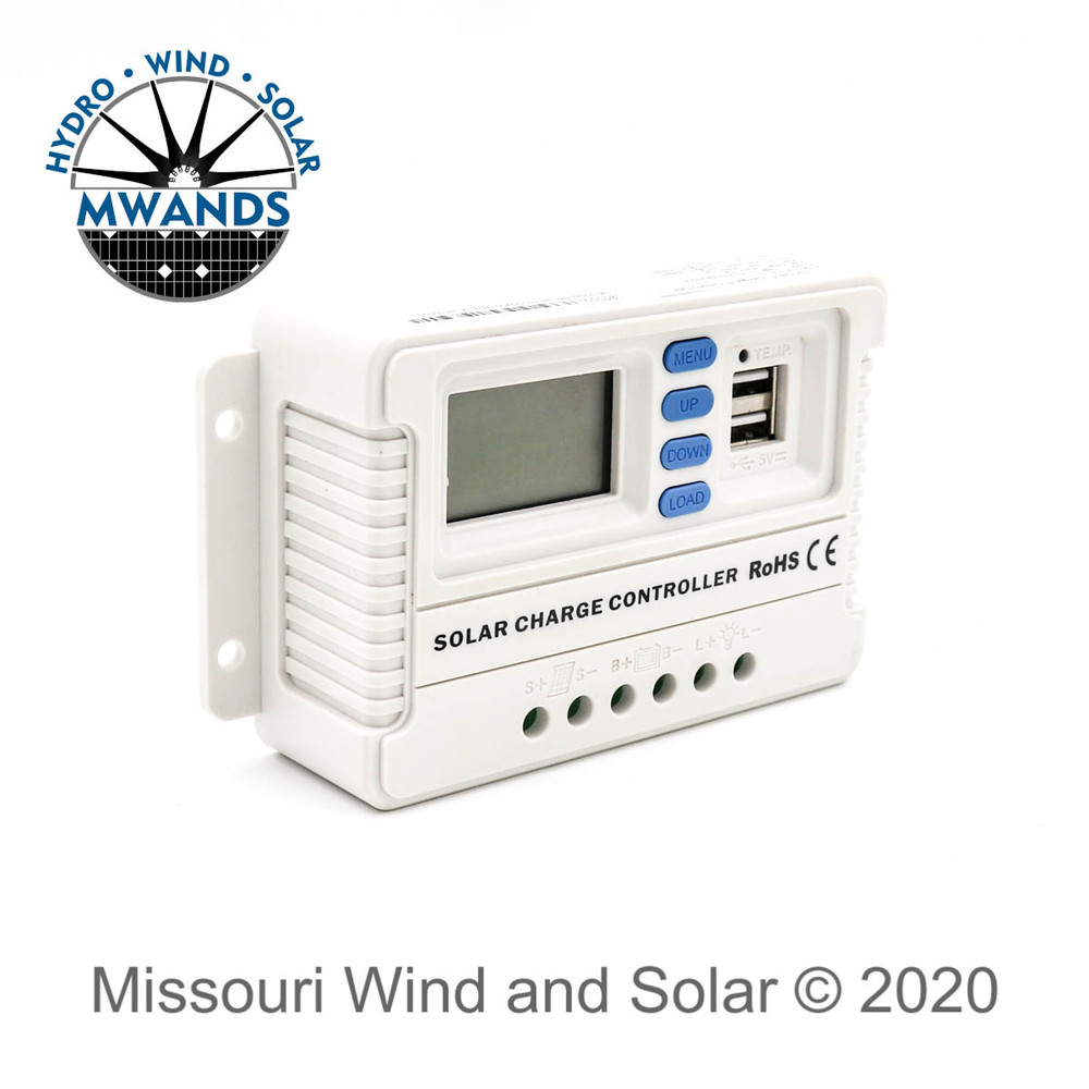 PWM Solar Charge Controller With LCD Display