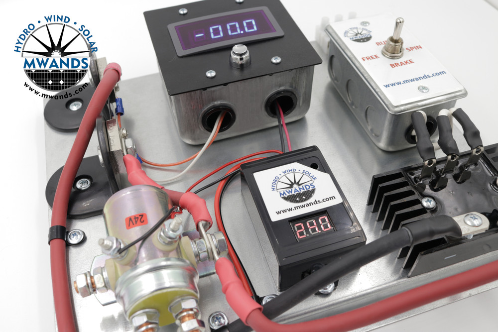 A400 Digital Wind and Solar Charge Controller Detailed View