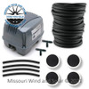 100 Liter Air Pump & Pond Aeration Kit