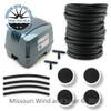 120 Liter Air Pump & Pond Aeration Kit