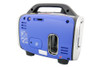 800 Watt Portable Inverter Generator Side View