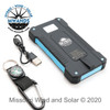 Portable USB Solar Charger with Accessories