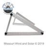 Fully Adjustable Solar Panel Mounting Brackets