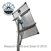Large Solar Panel Top Of Pole Mounting Rack