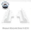 ABS Solar Panel Side Mounts