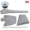 Gray Raptor G4 Wind Turbine Blade