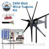 2000 Watt Freedom Wind Turbine Kit
