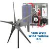 Raptor G4 Grey 1600 Watt Freedom Wind Turbine Kit