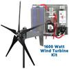 Raptor G4 Black 1600 Watt Freedom Wind Turbine Kit
