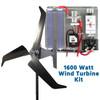 Falcon 1600 Watt Freedom Wind Turbine Kit