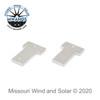 Short Bridge Aluminum Resistor Bar Pair