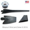 Raptor Generation 4 Wind Turbine Blade Detail