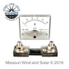 100 Amp Analog Style DC Meter with Shunt