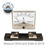 50 Amp Analog Style DC Meter with Shunt