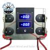 Dual 100 Amp Digital DC Meter Board with Shunt Bars