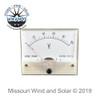 100 Volt Analog Style DC Meter