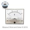 30 Volt Analog Style DC Meter