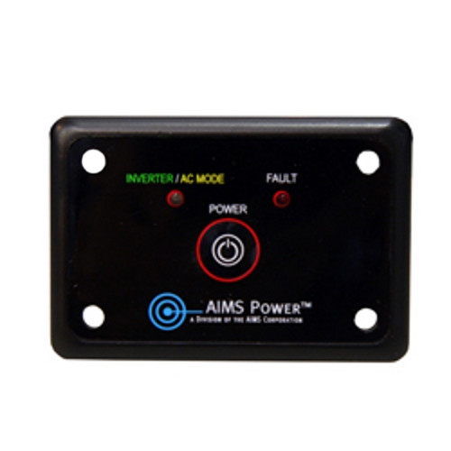 Flush Mount Remote Switch for Aims Power Inverters