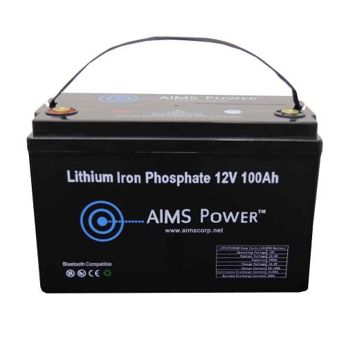LiFePO4 12 Volt 100 Amp Lithium Iron Battery