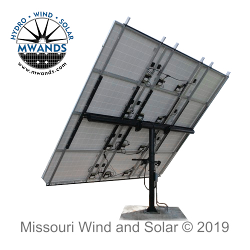 Missouri Wind and Solar Fixed Solar Panel Mounting System