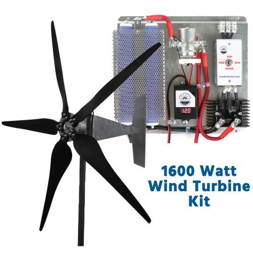 Raptor G5 1600 Watt Freedom Wind Turbine Kit