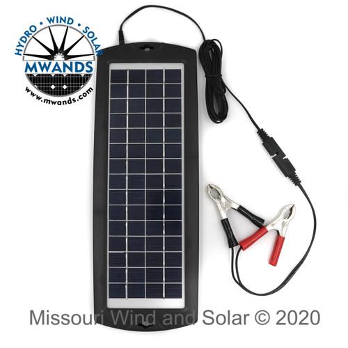 3.5 Watt - 12 Volt Solar Charger Maintainer